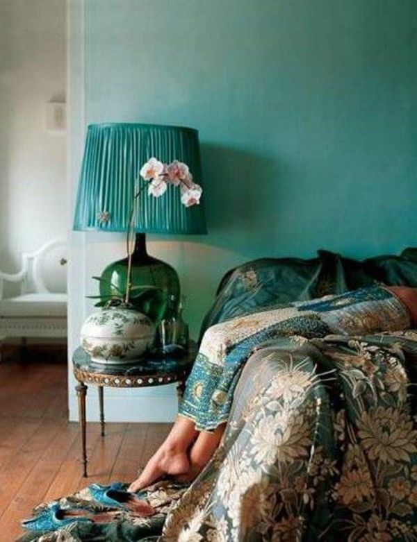 green-wall design-for-slaapkamer-super-look