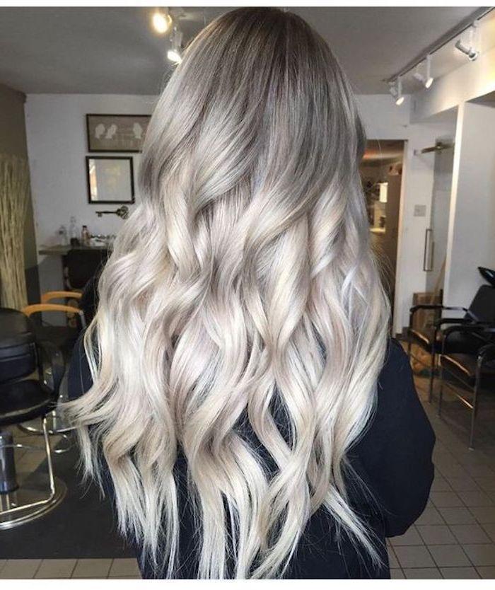 sølv hårfarge