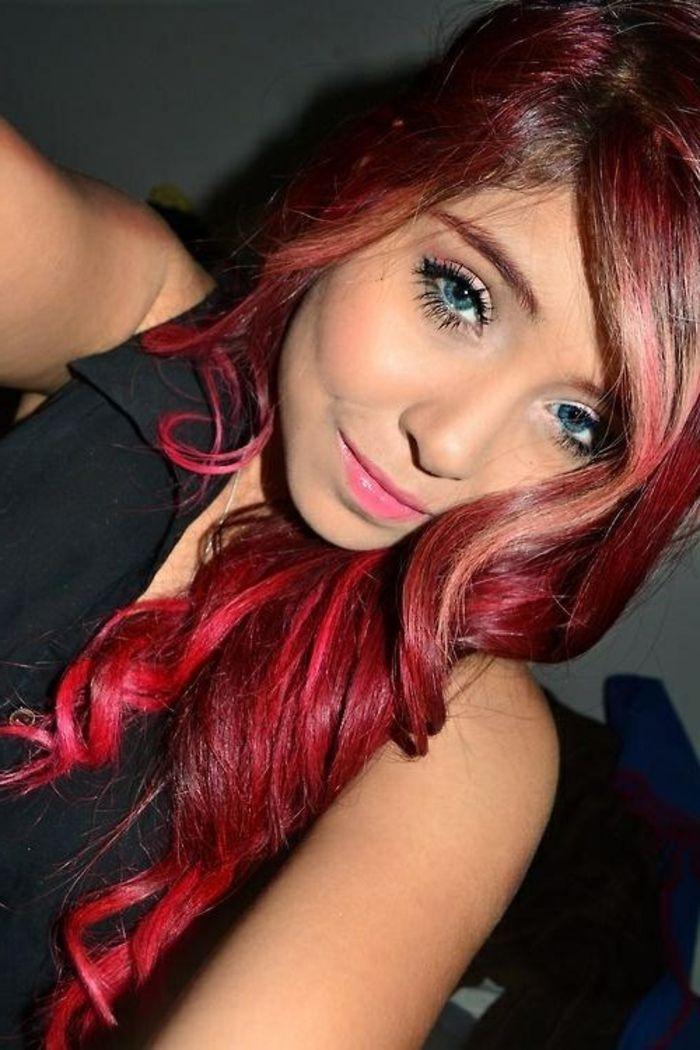 Czerwony kolor włosów jest czymś wyjątkowym!