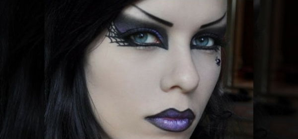Halloween makeup idéer-witch-cool-look
