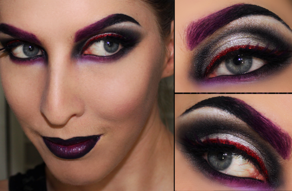 Halloween makeup idéer-witch-Deri-bilder