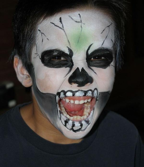Cadılar Bayramı Zombi Makyaj 28 Serin Fikirler