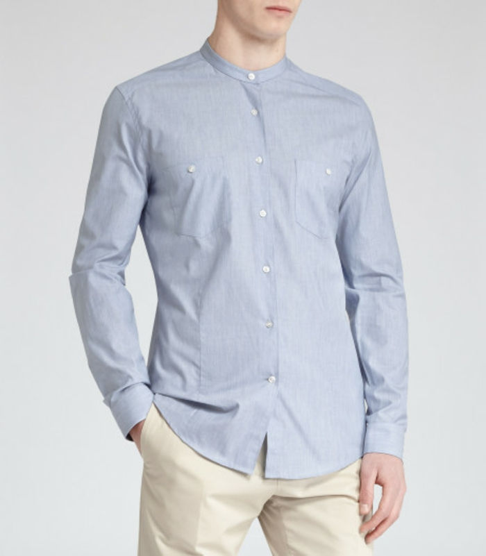 shirt-no-golier moderné-and-toll