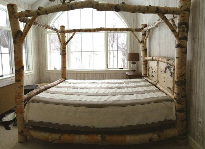 Himmelbett-own-build-a-fancy-poster bed-own-build