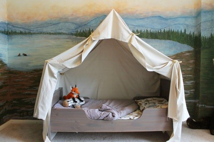 Himmelbett-own-build-poster bed-voor-kinderen