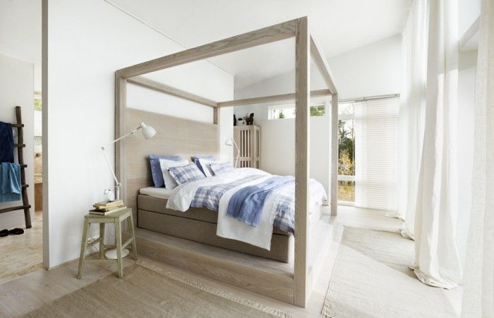 Himmelbett-own-build-wise-poster bed-own-build