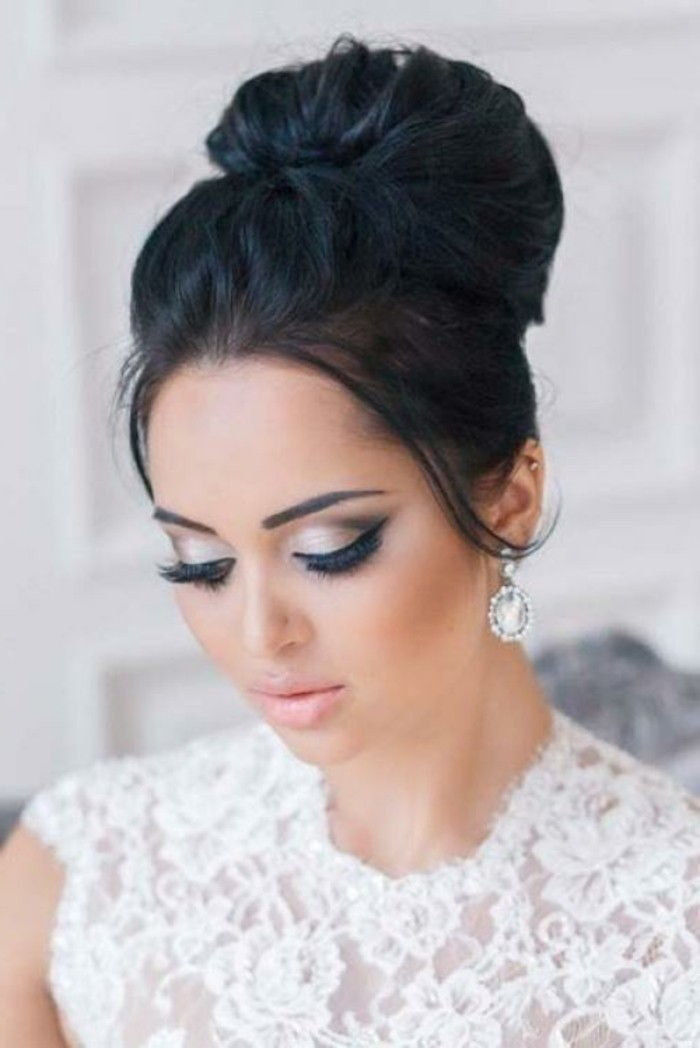 trucco da sposa bellezza finemente dipinta-donna-sposa-matrimonio-the-best-giorno-in-live-once-celebrare-