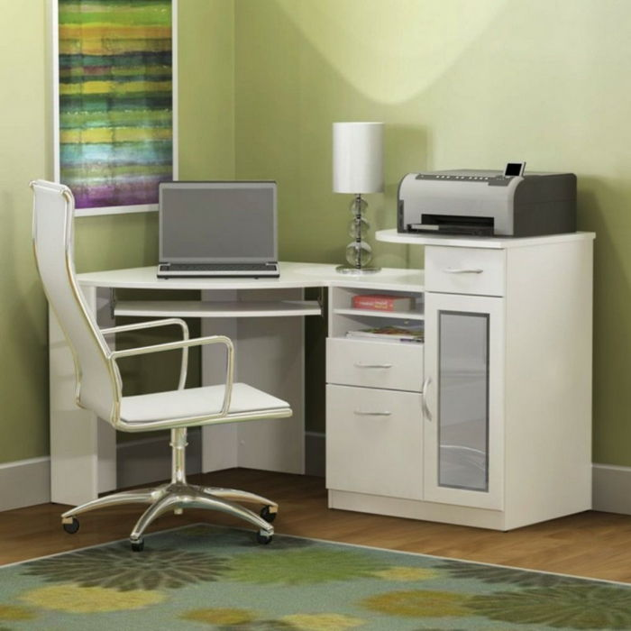 home-office set-mobílias-e-printer