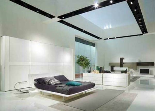 Italiaans-slaapkamer-with-a-cool-room plafond
