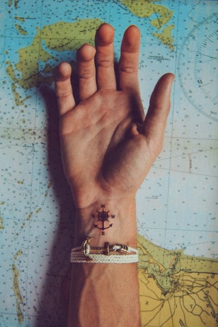 142 Inspirujące Pomysły Na Tatuaż Kompasu