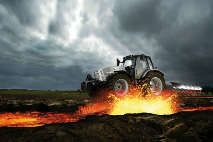 tapet de tractor lamborghini-over-the-foc