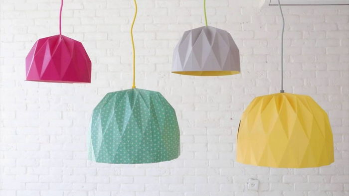 Lampada Origami Istruzioni : Lampada fai da te idee e istruzioni per persone creative
