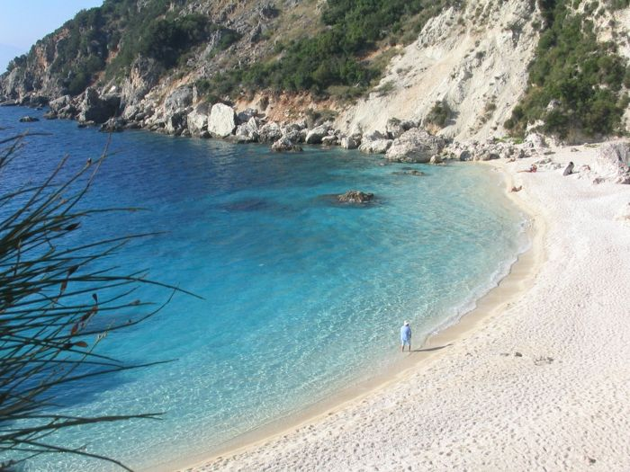 Lefkada-Grecia-spiagge-fresche bella carta da parati-spiagge-the-beautiful-spiagge-europe
