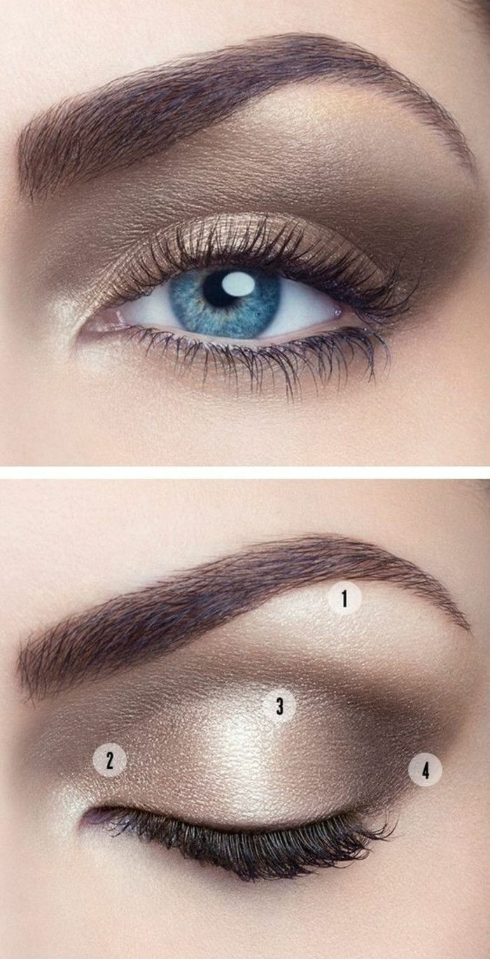 makeup-instruktioner-as-förmörkas-I-ögonskugga-naken palett-eye-makeup