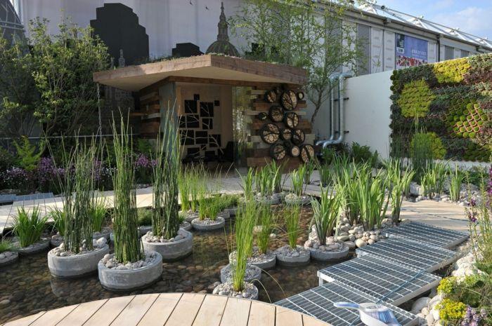 Minimalistische tuin u een combinatie van schoonheid en eenvoud