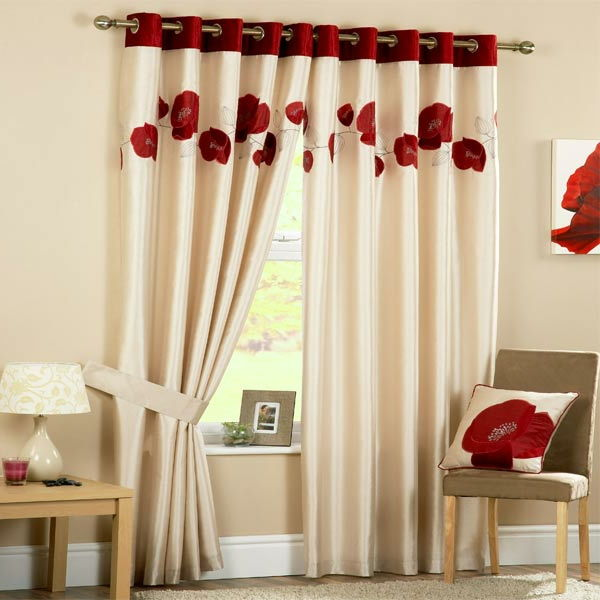 Gunstige-gordijn-keuken-red-keuken-design modern-curtain-laag