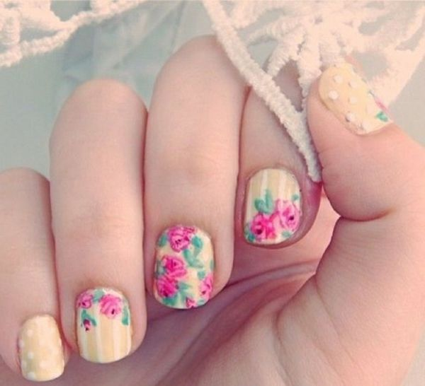 Nail design-for-pomlad-sladko-in-ustvarjalno-made