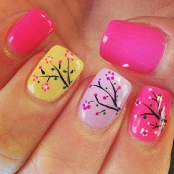 Nail design-for-pomlad-Podli-šik