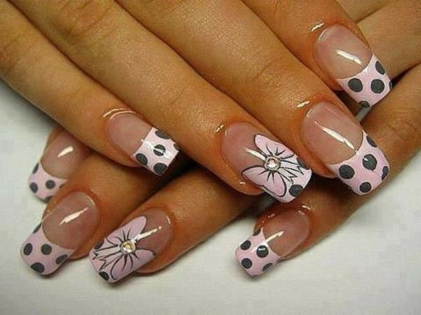 Nail design-for-pomlad-belo-in-siva