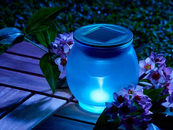 Garden Light-i-blue