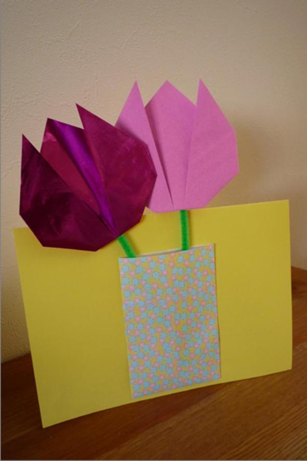 Марта, как сделать открытку из оригами на день рождение бабушке