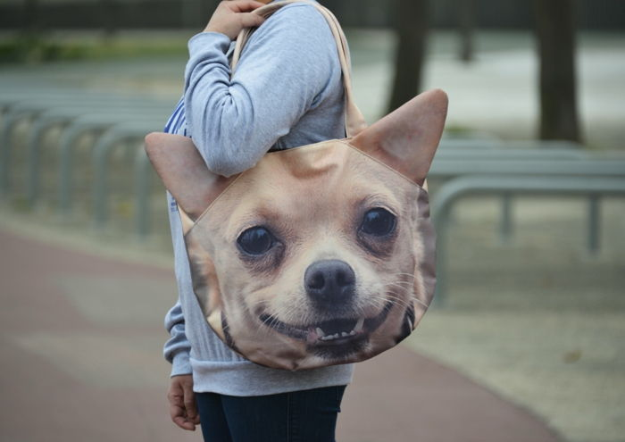ursprungliga fotopresenter pocket-print-face-of-a-dog