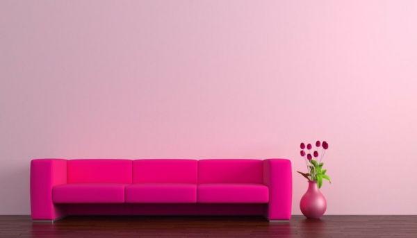 Roze muurverf u2013 25 super mooie voorbeelden!