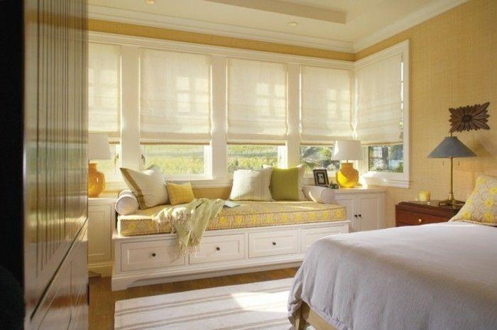 Moderne raamdecoratie voor een verfijnde sfeer in de kamer