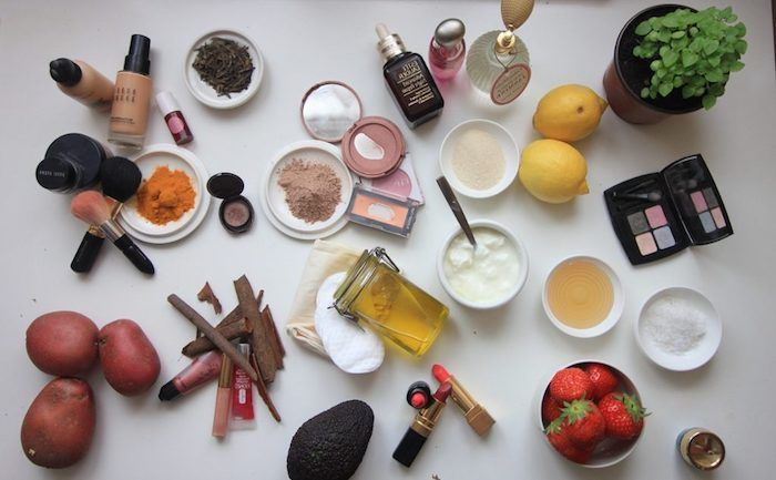 make up te stesso, trucco fatto da ingredienti naturali