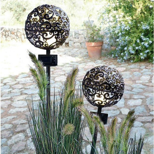GroBartig Interessante Solarleuchten_ Garden Antigo Jardim Lâmpada _kugel