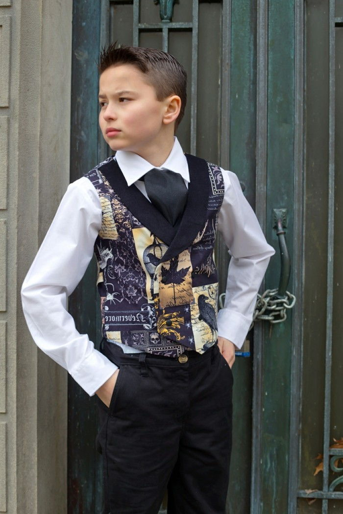 -Mode steampunk-for-kids-a-blue-vest