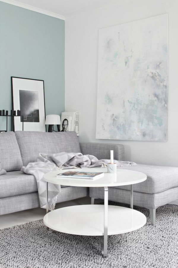 wielki-i-modern-wall paint-by-the-living-room