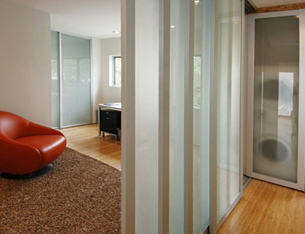 partition-in-apartment - design modern al camerei