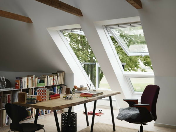 VELUX หลังคาระเบียง Wohnzimmer2