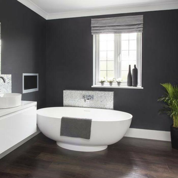 gray bathroom walls - 550×550