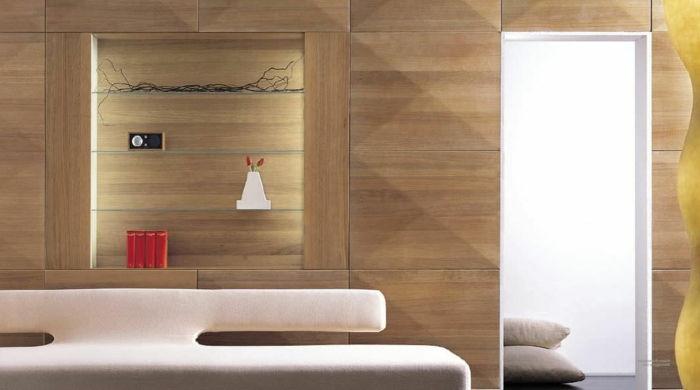 Houten Wandpanelen Slaapkamer : 43 geweldige ontwerpen van houten wandpaneel!