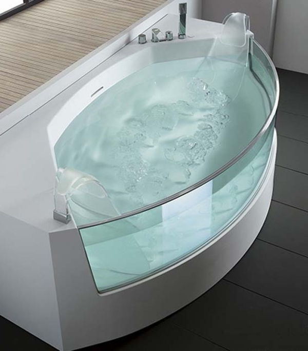 bubbelpool-badkar modern design