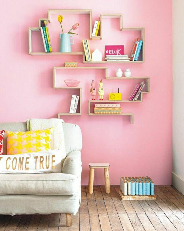 Roze muurverf – 25 super mooie voorbeelden!