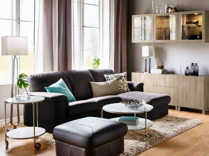 Gordijn Ideeen Woonkamer : Woonkamer gordijnen ideeën voor uw appartement