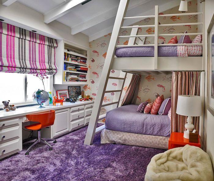 Slaapkamer Ideeen Lila.140 Sprookjesachtige Jeugdkamers Creatieve Ideeen Voor Meisjes